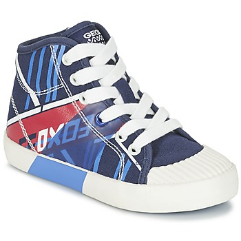 Shoes Boy High top trainers Geox J KIWI B. E Marine