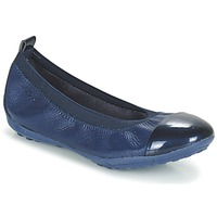 Shoes Girl Ballerinas Geox J PIUMA BALL B Marine