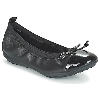 Shoes Girl Ballerinas Geox J PIUMA BAL F Black
