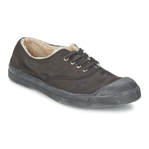 Shoes Children Low top trainers Bensimon TENNIS FOURREES Grey