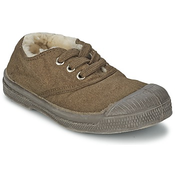 Shoes Children Low top trainers Bensimon TENNIS FOURREES Brown