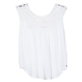 material Women Tops / Sleeveless T-shirts Rip Curl AMOROSA TOP White