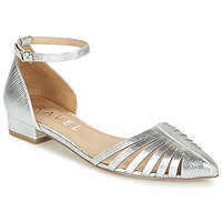 Shoes Women Ballerinas Ravel MEDINA Silver