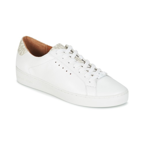 Shoes Women Low top trainers MICHAEL Michael Kors IRVING LACE UP White