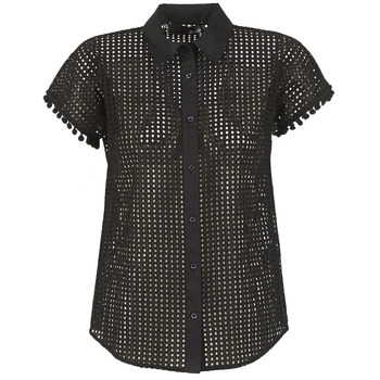 material Women Shirts Love Moschino WCC0480 Black