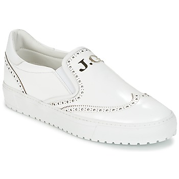 Shoes Men Low top trainers John Galliano 2464BA White