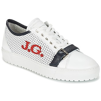Shoes Men Low top trainers John Galliano 2477CA White