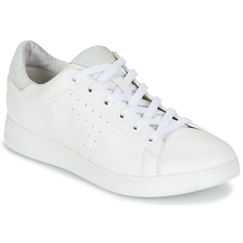 Shoes Women Low top trainers Geox JAYSEN A White
