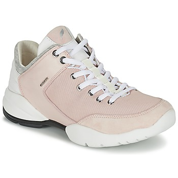 Shoes Women Low top trainers Geox SFINGE A Pink