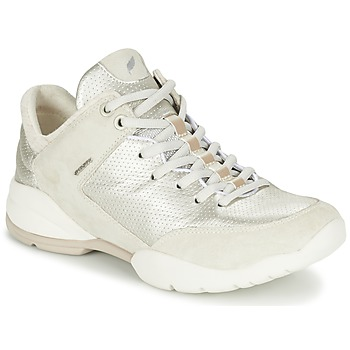 Shoes Women Low top trainers Geox SFINGE A White