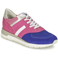 Shoes Women Low top trainers Geox SHAHIRA A Pink / Violet