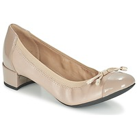 Shoes Women Court shoes Geox D CAREY A TAUPE