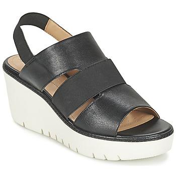 Shoes Women Sandals Geox D DOMEZIA B Black