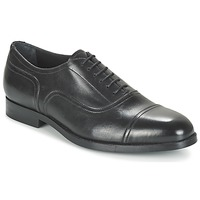 Shoes Men Brogue shoes Geox U HAMPSTEAD C Black