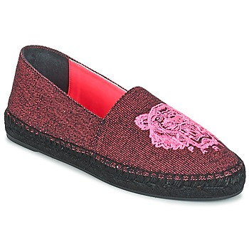 Shoes Women Espadrilles Kenzo TIGER FLUO CANVAS MIXED Pink