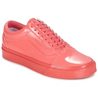Shoes Women Low top trainers Vans UA OLD SKOOL Coral