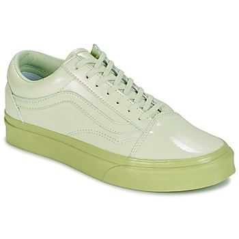 Shoes Children Low top trainers Vans UA OLD SKOOL Green