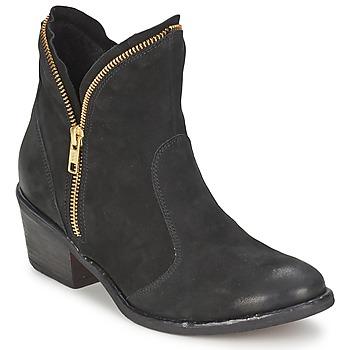 Shoes Women Mid boots Casual Attitude LALE Black