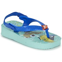 Shoes Children Flip flops Havaianas BABY DISNEY CUTIES Blue / Glacier