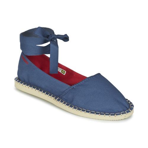 Shoes Women Espadrilles Havaianas ORIGINE SLIM Blue