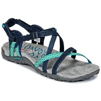 Shoes Women Sandals Merrell TERRAN LATTICE II Marine / Green