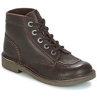Shoes Women Mid boots Kickers KICK COL Brown