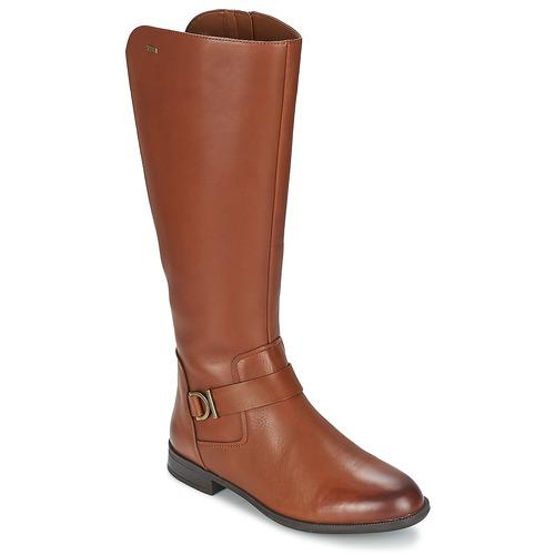 Shoes Women Boots Clarks MINT TREAT GTX Brown