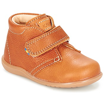 Shoes Children Mid boots Kavat HAMMAR Brown