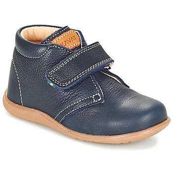 Shoes Children Mid boots Kavat HAMMAR Blue / Dark