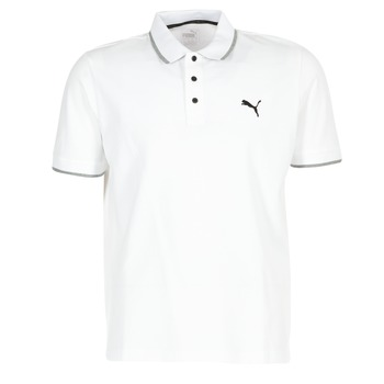 material Men short-sleeved polo shirts Puma PUMA HERO POLO White
