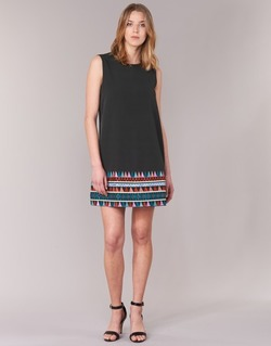 material Women Short Dresses Molly Bracken MESPT Black