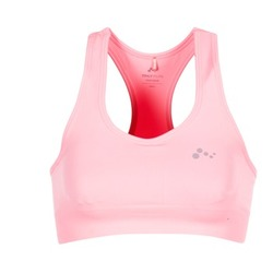 material Women Sport bras Only Play DAISY Pink