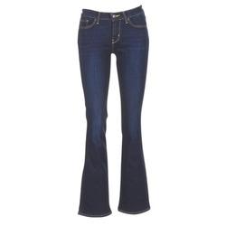 material Women bootcut jeans Levi's 715 BOOTCUT Blue