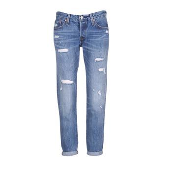 material Women Boyfriend jeans Levi's 501 CT Radio / Star