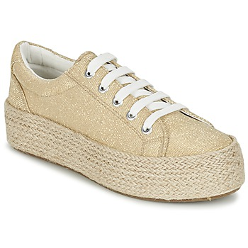 Shoes Women Espadrilles Café Noir ROVIKO Gold