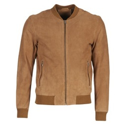 material Men Leather jackets / Imitation le Selected MARK CAMEL