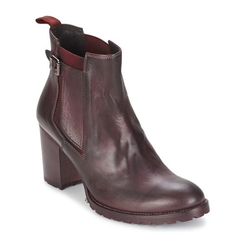 Shoes Women Ankle boots Liebeskind NAPOLI Red / Black