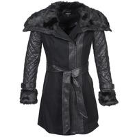 material Women coats Morgan GEFROU Black