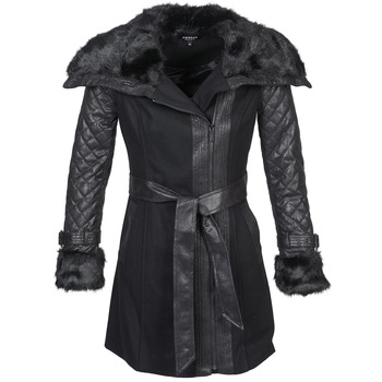 material Women coats Morgan GEFROU Black
