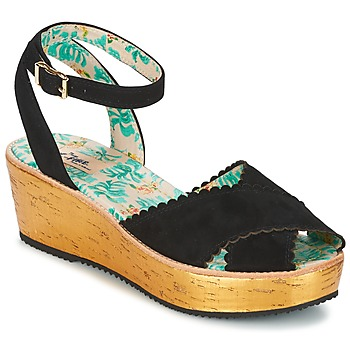 Shoes Women Sandals Miss L'Fire MARCIE Black