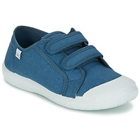 Shoes Children Low top trainers Citrouille et Compagnie GLASSIA Blue