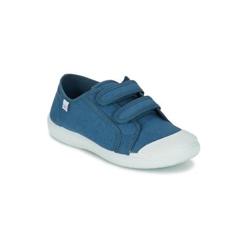 Shoes Children Low top trainers Citrouille et Compagnie GLASSIA Blue