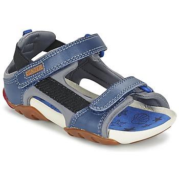 Shoes Boy Sandals Camper OUS Blue