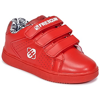 Shoes Children Low top trainers Freegun FG ULSPORT Red / White