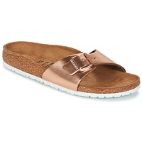 Shoes Women Mules Birkenstock MADRID BRONZE