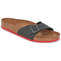 Shoes Men Mules Birkenstock MADRID Black / Red