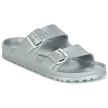 Shoes Women Mules Birkenstock ARIZONA EVA Silver