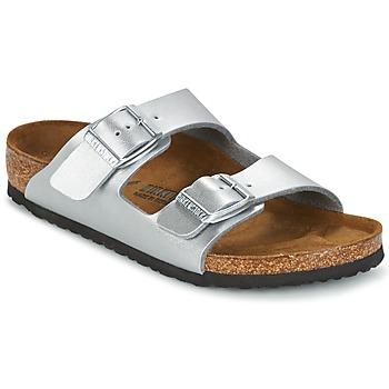 Shoes Children Mules Birkenstock ARIZONA Silver