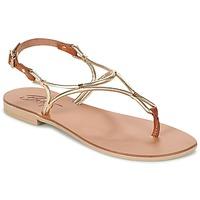 Shoes Women Sandals Betty London GARDO Gold / CAMEL