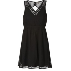 material Women Short Dresses Vero Moda BIANCA Black